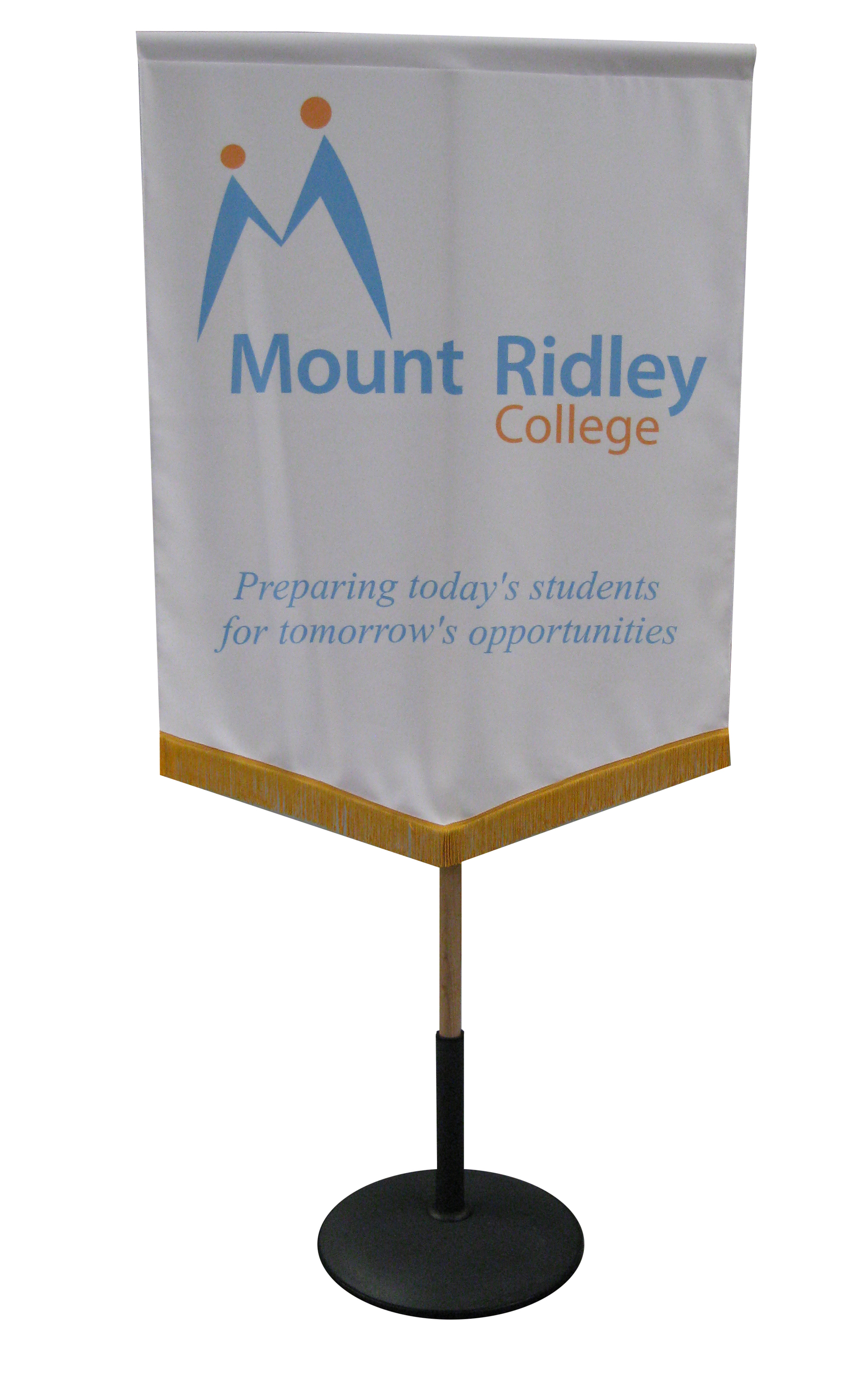 Processional & Formal School Banners • Marble Print Solutions